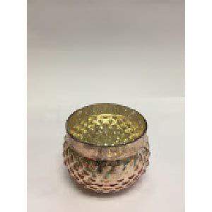 Missy - Rose Gold Votive Small