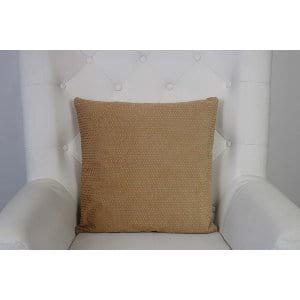 Elodie - Gold Blush Polka Dot Pillow