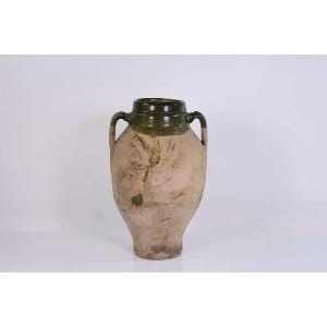 Caterina - Green Clay Urn Large