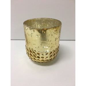 Missy - Gold Votive  Small