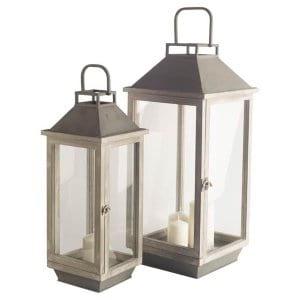 Lantern SmallGreywash