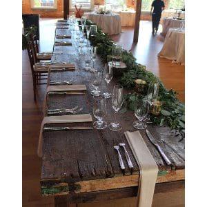 Maritza - Rectangular Rustic Farm Tables