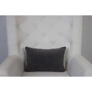 Sherry - Purple Grey Pillow Oblong
