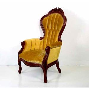 Carolina - Gold Velvet Chair