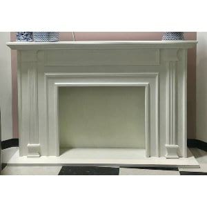 Sissy - White Fireplace