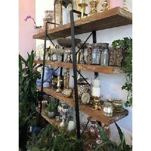 Hattie Shelves - Wood + Iron
