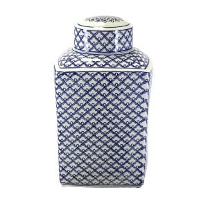 Imogene -  Blue White Ceramic