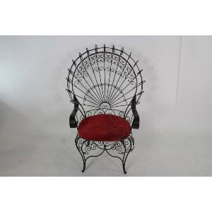 Anastasia - Iron Arm Chair