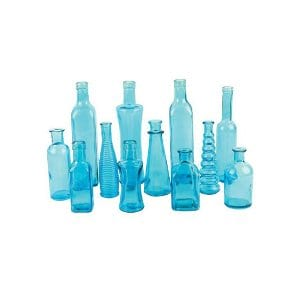 Alicia - Assorted Blue Bud Vases