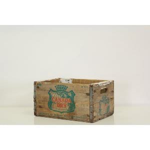 Bessie Vintage Canada Dry Crate - Small
