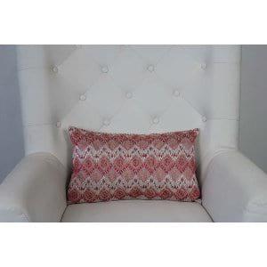 Fleur - Pink Oblong Pillow