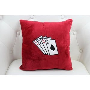 Marie Pillow - Red