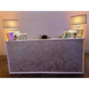 Gwendolyn Bar - Pink + Pearl Texture