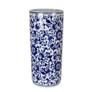 Flora -  Blue White Ceramic