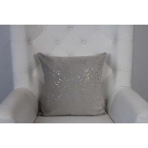 Jane - Taupe Gold Pillow