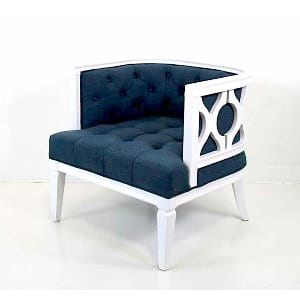 Jade - Blue White Chair