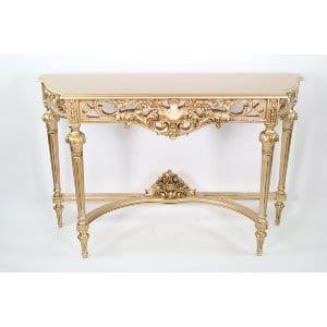 Martha - Gold Sofa Table