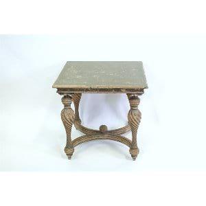 Emma - Carved Leg Side Table