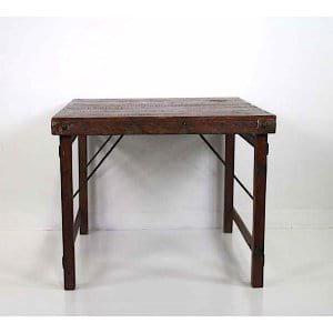 Maritza - Square Rustic Farm Table