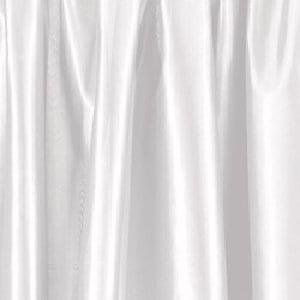 White Poly Silk Draping Panel
