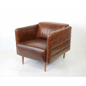 Maya - Leather Arm Chair