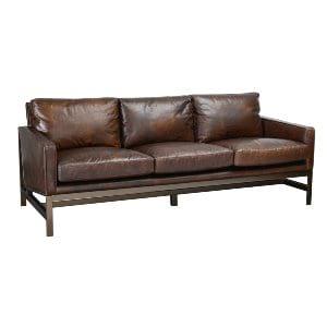 Shauna - Leather Sofa