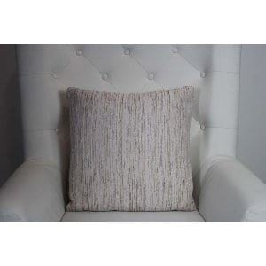 Candice - Ivory, Blush, Copper Tweed Pillow