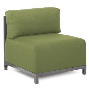 Skylar- Titanium Chair Moss Green Cover
