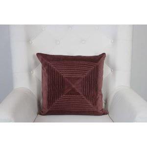 Bronwyn - Burgundy Velvet Pillow