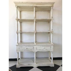 Cassidy Shelves - Ivory Distressed