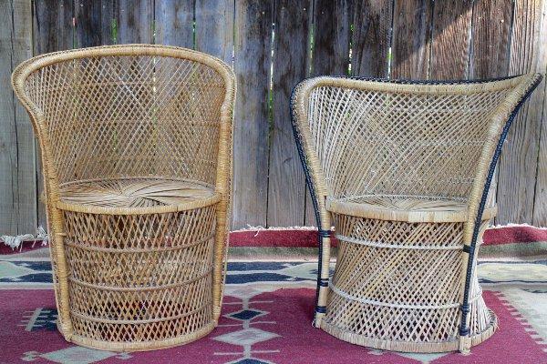 Wicker Pod Chairs