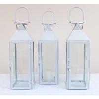 White Glass-Fronted Lantern