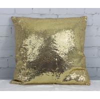 Gold Sequin Pillow