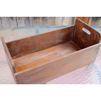 Rustic Box with Side Handles