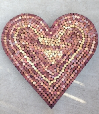 Decorative Cork Heart
