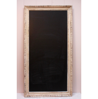 Large Chalkboard in Ivory Ornate Frame