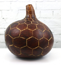 Carved Gourd from Kenya
