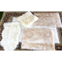 Faux Furry Rugs/Throws
