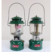 Vintage Green Camping Lantern (Decorative)