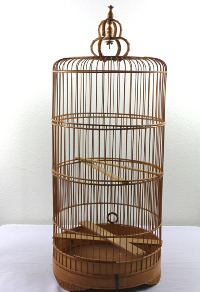 Wicker Birdcage
