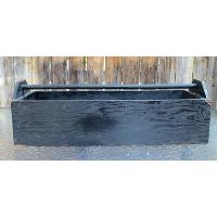 Large Black Wooden Toolbox