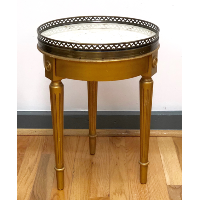 Palace Two Marble-Topped Side Table