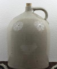 Antique 5-Gallon Stoneware Crock
