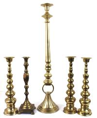 Tall BrassCandlesticks