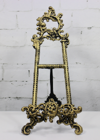 Gold Victorian Table Easel