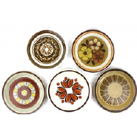 1970s Stoneware Dinner Plates from Japan