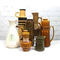 Mid-Century Ceramic Pitchers