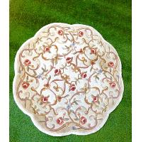 Rose Circle Rug