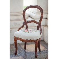 Veronica Embroidered Side Chair