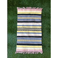Pastel Striped Area Rug